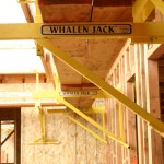 The Whalen Jack on wood framing