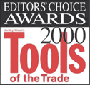 The WHALEN-JACK received the Editors Choice Award