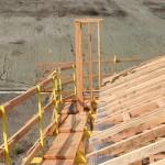 Two or three plank working platform