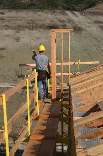 With Wood Framing The Whalen Jack Fall Protection System