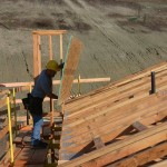 Fall Protection = OSHA acknowledged work platform, great for installing roof sheathing.