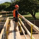 OSHA-acknowledged scaffold fall protection