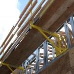 WHALEN-JACKs attached to light gauge steel