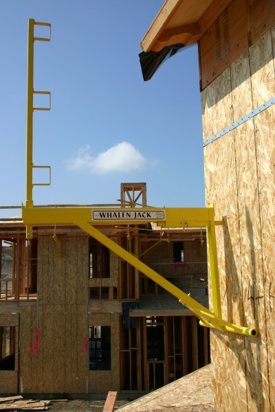 Wall Jacks For Framing steel framing - the whalen-jack fall protection system